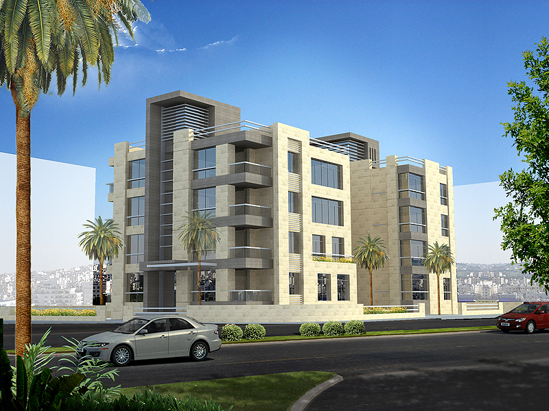 Residential building amman for Residential house builders